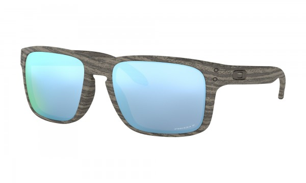Oakley Holbrook Woodgrain Collection Prizm Deep Water Polarized
