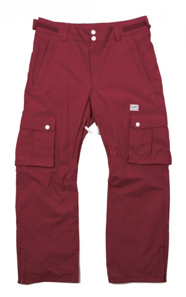 Colour Wear CLWR Pant burgundy (men)