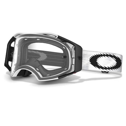 Oakley Airbrake MX Matte White Speed Clear