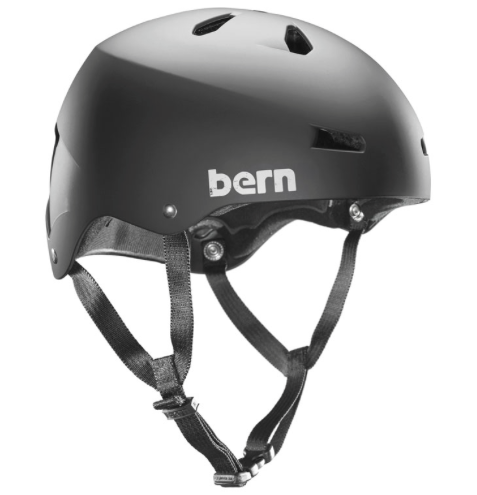 Bern Team Macon EPS satin black (men)
