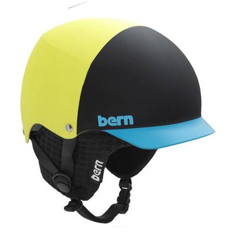 Bern Baker Matte Neon Yellow Hatstyle