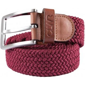 Colour Wear Flex Belt burgundy
