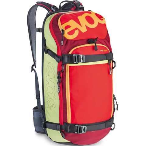 Evoc Performance Backpack FR PRO Team (lime/red/ruby) M/L