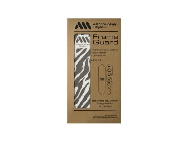 All Mountain Style Frame Guard Zebra