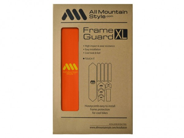All Mountain Style Frame Guard XL Orange