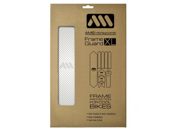 All Mountain Style Frame Guard XL Drops White