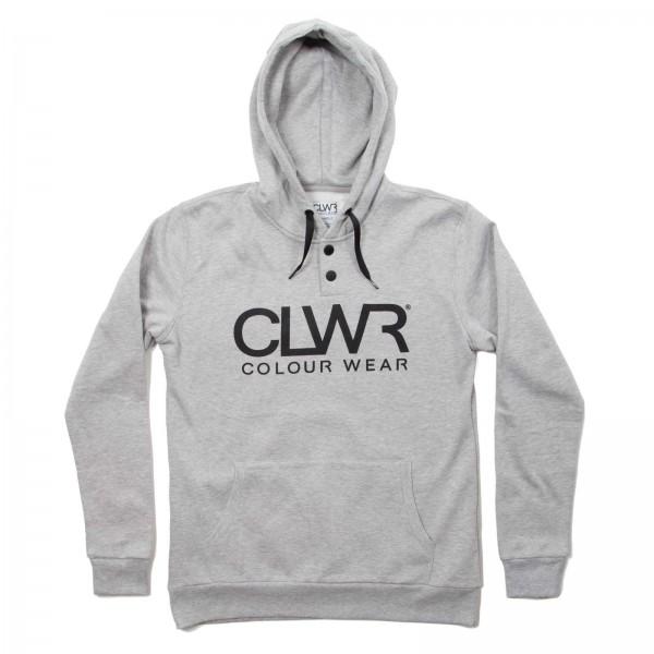 Colour Wear CLWR Hood grey melange GR. XL (men)