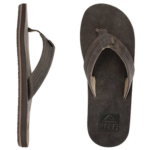 Reef Sur Sandals dark brown (men)