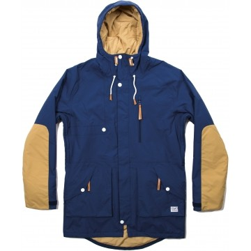 Colour Wear Punisher Parka navy (men)