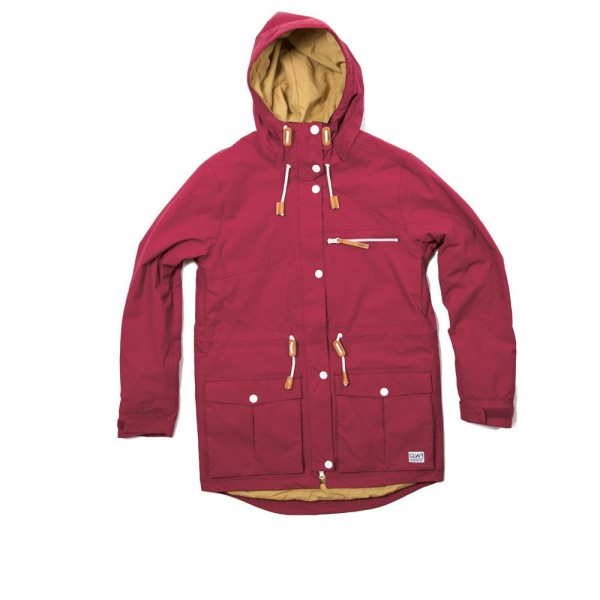 Colour Wear Up Parka burgundy (women)