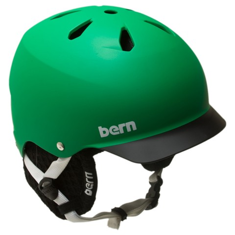 Bern Watts Matte Green Black Brim