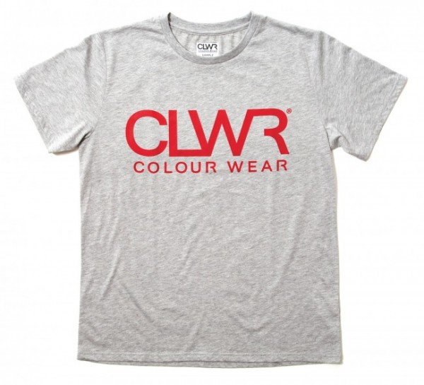 Colour Wear CLWR Tee grey melange (men)