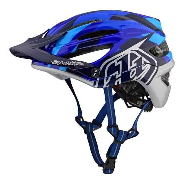 TLD A2 Jet Helm Blue