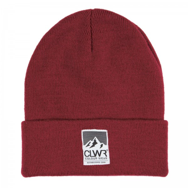 Colour Wear Puppet Beanie burgundy