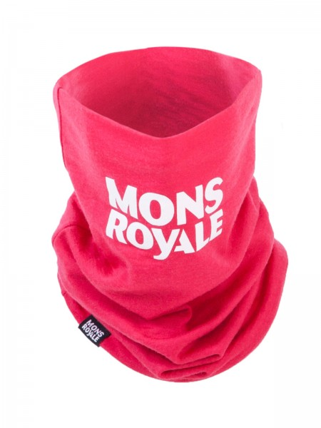Mons Royale Neckwarmer Hot Pink