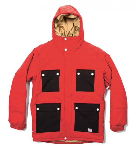 Colour Wear Switch Jacket red (men)