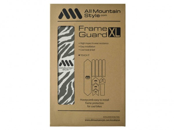 All Mountain Style Frame Guard XL Zebra