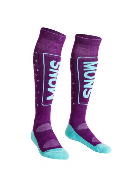 Snow Tech Snow Sock, Pinot/Mint