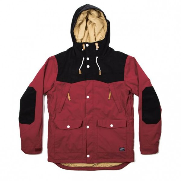 Colour Wear Käppeli Jacket burgundy (men)