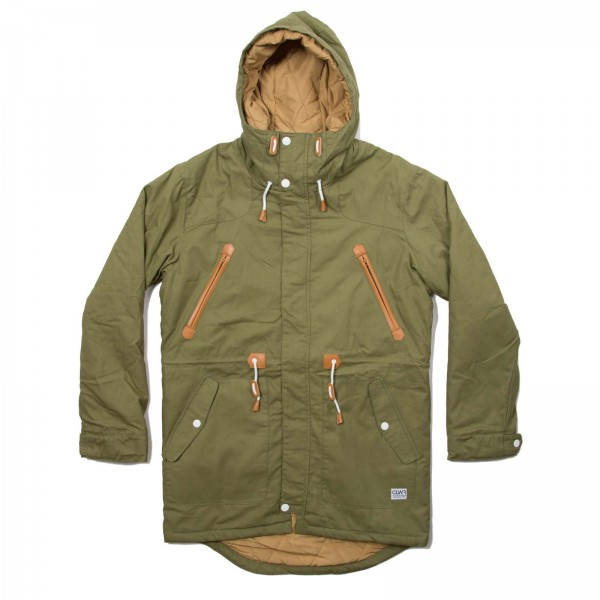 Colour Wear Urban Parka loden (men)