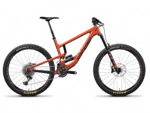 Santacruz Nomad 4.0 CC Orange and Carbon Rahmen