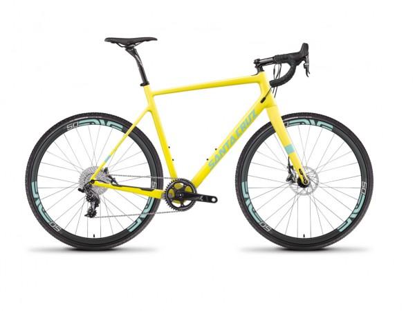 Santacruz Stigmata CC Yellow & Mint Rahmen
