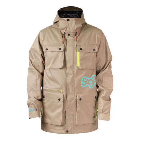 Saga Tek Anomie Jacket Beaver Fur (men)