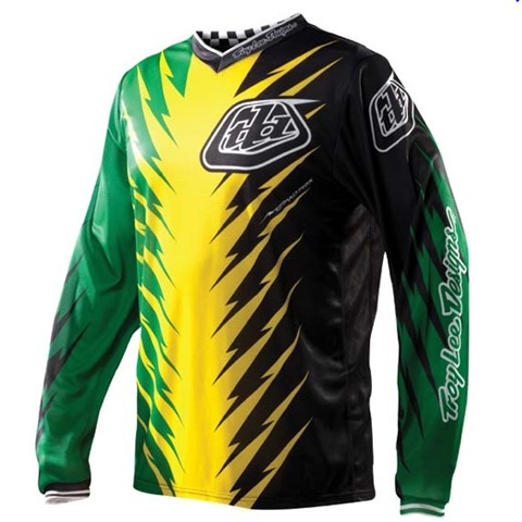 Troy Lee Designs GP Jersey Shocker Grn/Yel