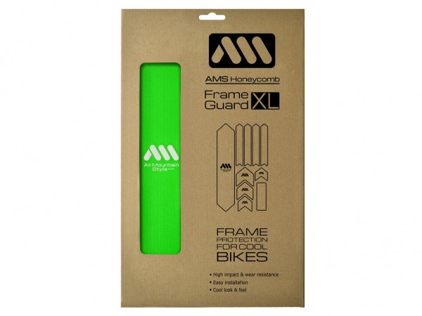 All Mountain Style Frame Guard XL Green
