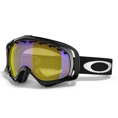 Oakley Crowbar Jet Black High Intensity Yellow