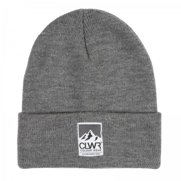 Colour Wear Puppet Beanie grey melange